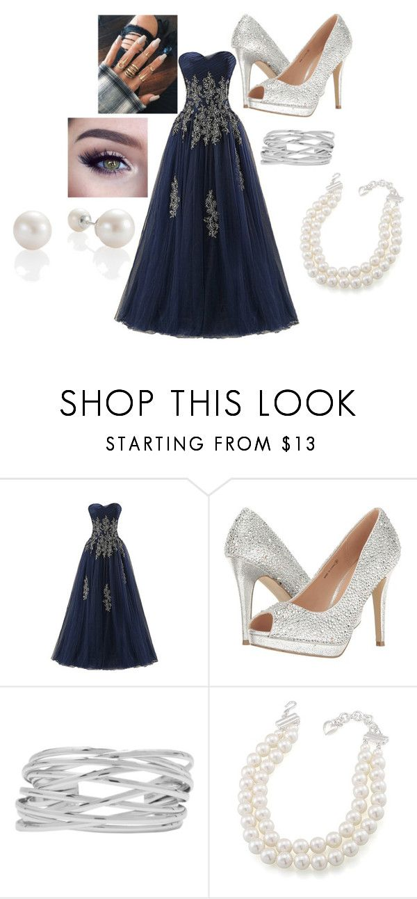 """""""prom"""" by lolakoala on Polyvore featuring Pink Paradox London, M&Co and Carolee"""