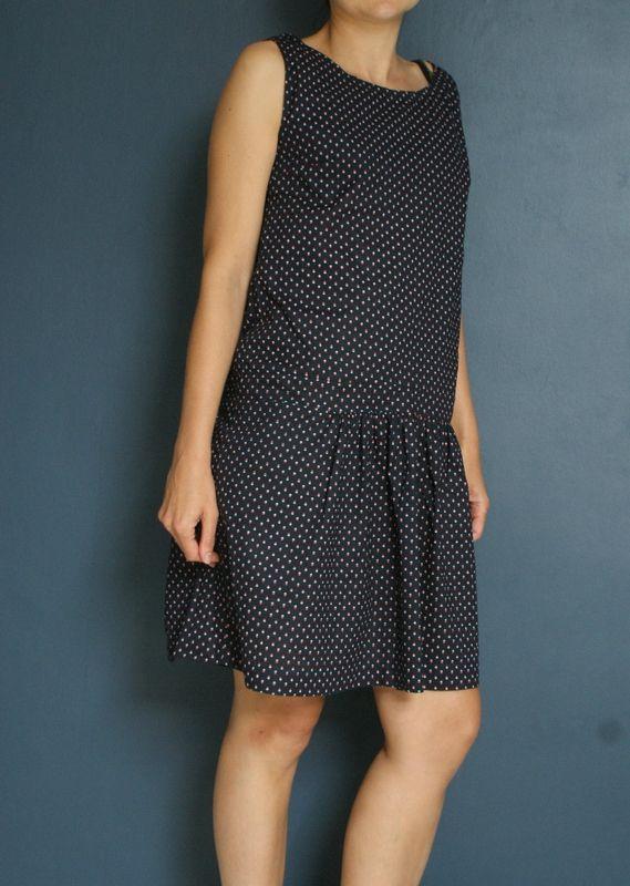 Modèle Mickaëlle tiré de Un été en couture de Géraldine Debeauvais, La République du chiffon  Blog 22 rue