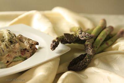 sweet cherimoya: Zielony makaron na koniec szparagowego sezonu