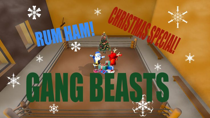 Watch us play Gang beasts; an awesome game about beating up colorful men.