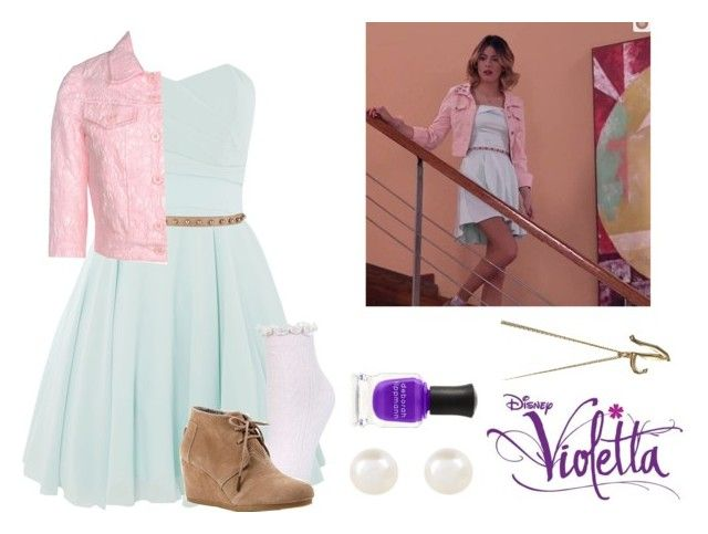 Violetta 3 Episode 48 By Violetta Leonetta Liked On Polyvore Featuring Beauty Tfnc Lanvin