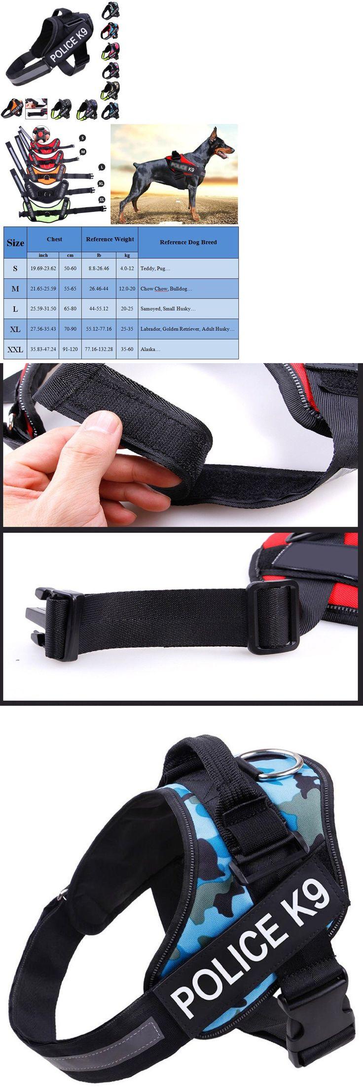 Harnesses 66783 Dog Harness No Pull Adjustable Soft Vest