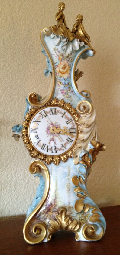 French Baroque style clock