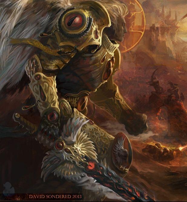 Primarch Sanguinius, the Blood Angel, Warhammer 40000