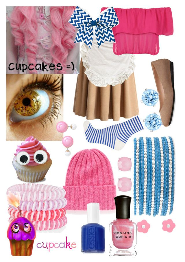 """Carl The Cupcake (Human FNAF Girls)"" by thefnaftheorists ❤ liked on Polyvore"