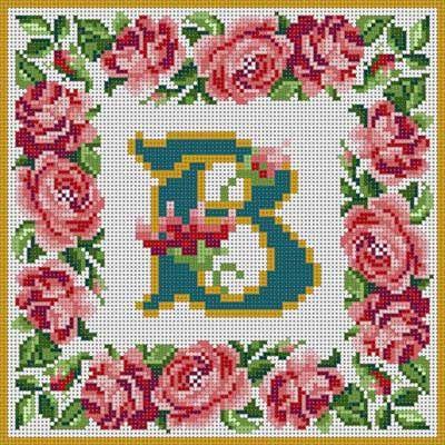 Rose Border Alphabet