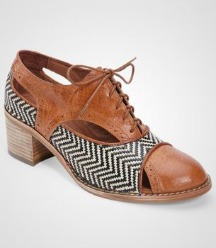 Jeffrey Campbell Pelley Oxford Shoe. Nice though may not cope too well in an wet English winter...