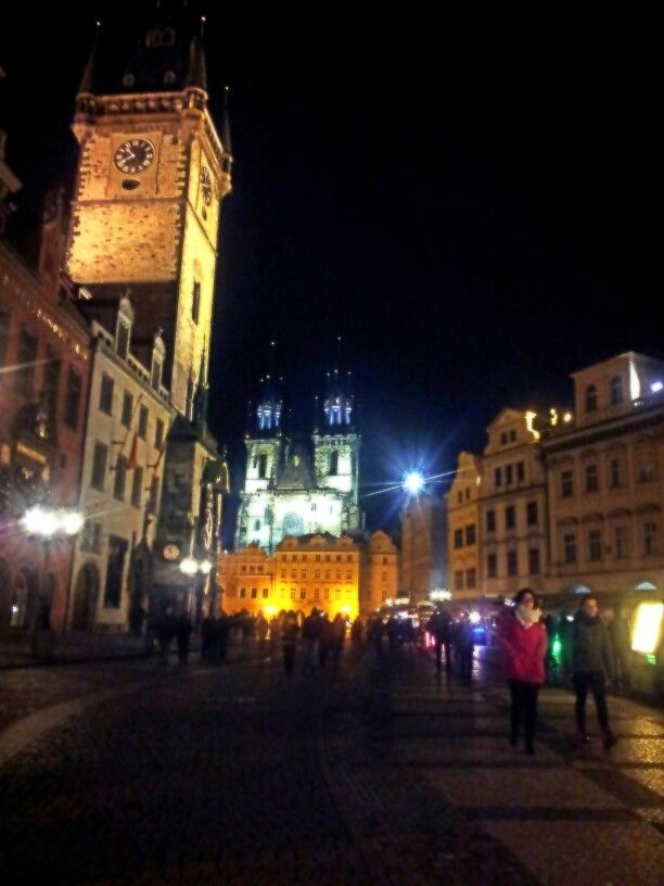 Praha...the city is full of beautiful architecture. I'm so impressed!!