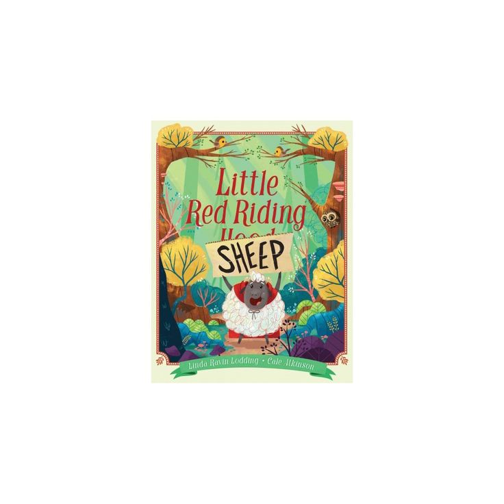 Little Red Riding Sheep (School And Library) (Linda Ravin Lodding)