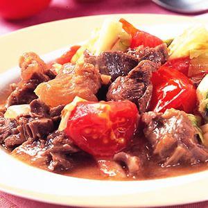 蕃茄蔬菜燉牛肉