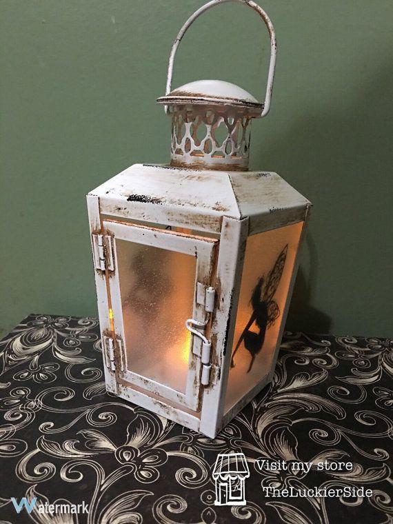 Fairy Lantern Lamp Nightlight Fairies Deco by TheLuckierSide