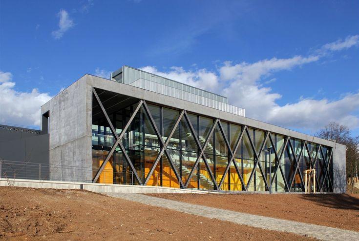 Cena v kategorie Novostavba - Centrum obnovy památek architektury 20. století, Brno - Pisárky