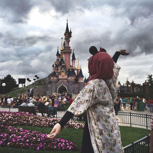 Image de girl, disney, and hijab