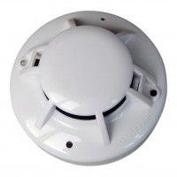 Smoke Detector-Agni Optical smoke detector with remote LED output + base, Duel LED, Blinking type (UL listed)
