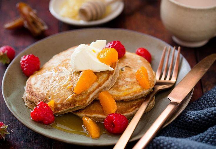 Date Pancakes Recipe - Viva