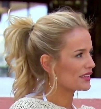 Emily Maynard Loose Ponytail, shes so pretty! kinda obsessed with the bachelorette