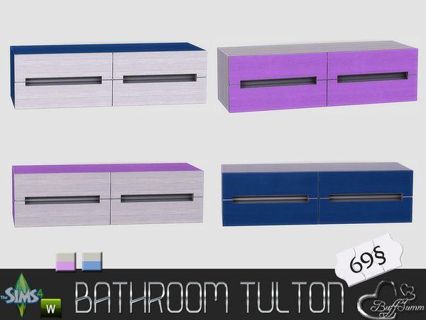 BuffSumm's Tulton Bathroom 'Under the Sink' Shelf (Recolor 2)