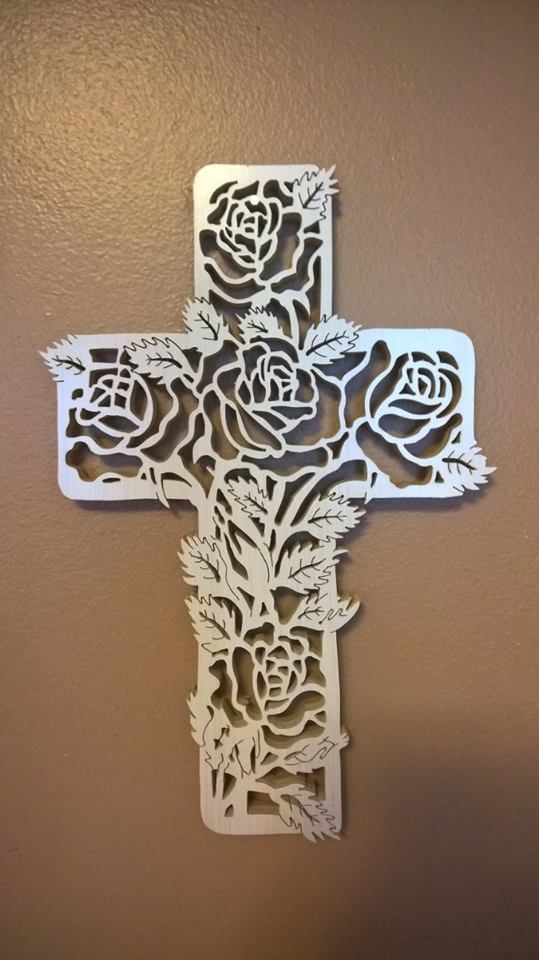 Rose Cross $65