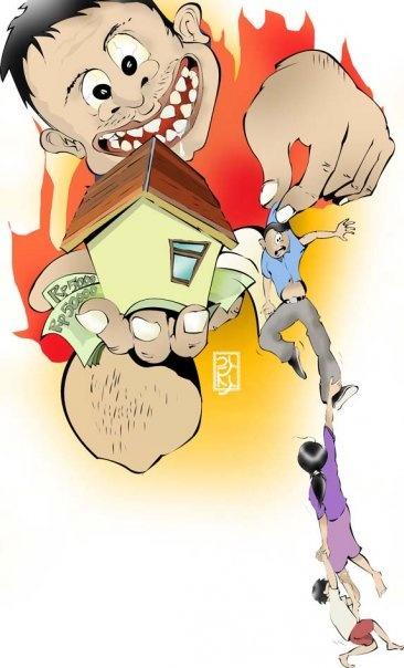 Threaten by Owner-Illustration for iDEA Magz| Adobe Illustrator