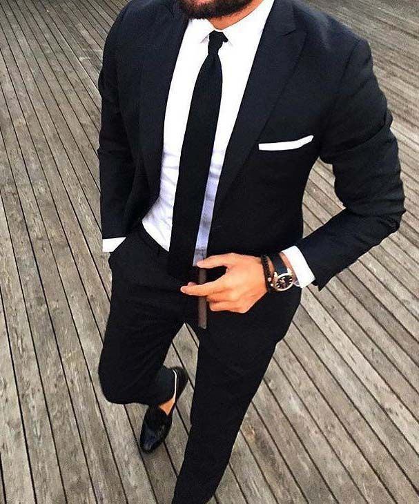 17 Best ideas about Black On Black Suit on Pinterest | Tom ford ...