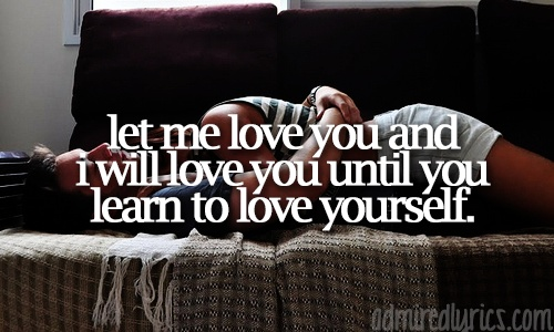 Let Me Love You (Until You Learn to Love Yourself) - Glee Cast