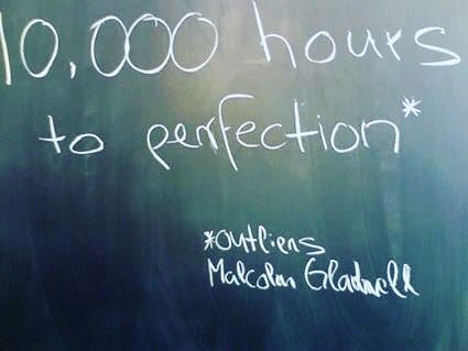 Outliers by Malcolm Gladwell is one of my all time favorite reads.  10000 hours of doing live talks and presentations is my goal!  Practice your art your trade but most importantly practice the art in which you educate your services #chirosocialtech Watch live at http://ift.tt/1RS2fCG