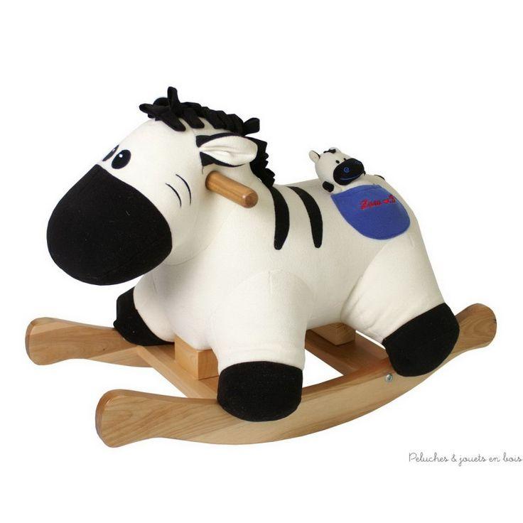 cheval bascule arceau amovible jouet bois de qualit. Black Bedroom Furniture Sets. Home Design Ideas