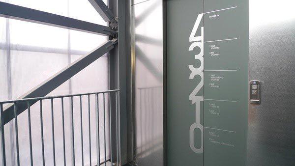 Great floor signage! #environmentaldesign
