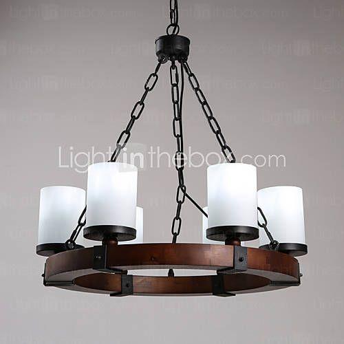 MAX 40W Plafond Lichten & hangers , Retro Schilderen Kenmerk for Ministijl…