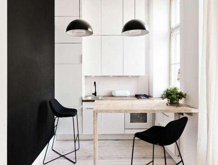 Les 25 meilleures id es concernant cuisine ikea noire sur for Idee cuisine americaine appartement