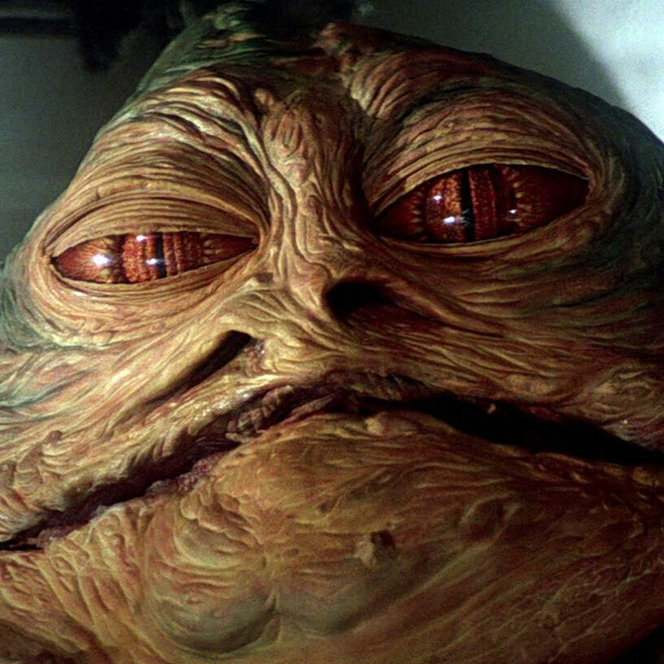 From fb posted by Star Wars.  JABBA THE HUT.
