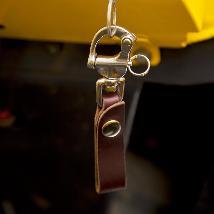 Lanyard cut from #horween