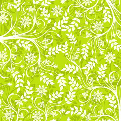 Green fashion vector background pattern - Vector