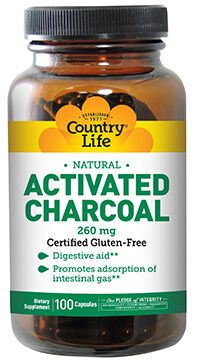 Country Life Activated Charcoal Supplements