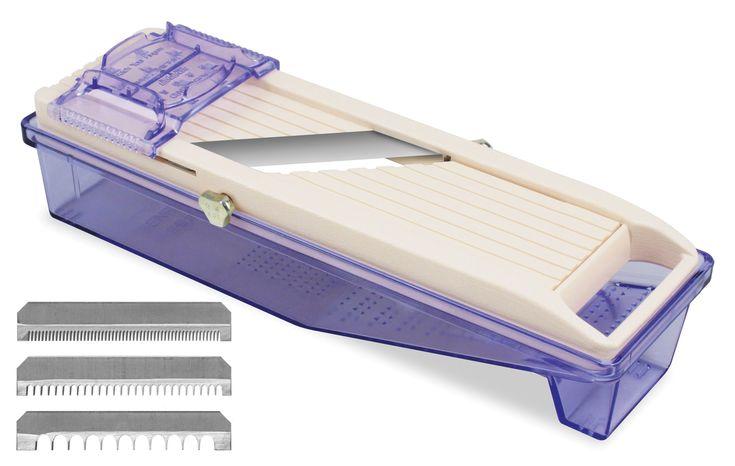 Benriner Asian Mandoline Slicer with Tray   cutleryandmore.com