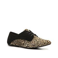 zapato plano negro-estampado