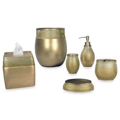 High Quality The Diamond Dust Bath Ensemble Will Enhance And Update Your Bathroom Décor  In Elegant Style With Its Beautiful Design And Rich, Welcoming Champagne  Color.