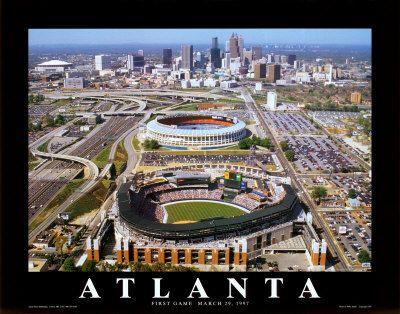 ATL...and my first baseball game was here Atlanta Braves vs. Florida Marlins