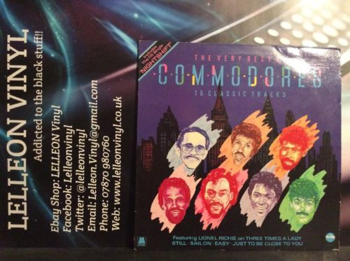 The Very Best Of The Commodores LP Album Vinyl Record STAR2249 Soul Motown R&B Music:Records:Albums/ LPs:R&B/ Soul:Soul