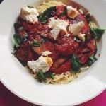 Recept: Spaghetti alla norma met gebakken ricotta