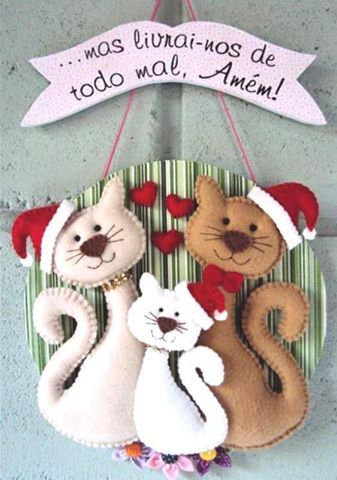 Gatinhos de natal
