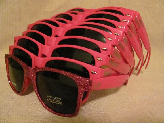 Hey, I found this really awesome Etsy listing at https://www.etsy.com/listing/173837580/set-of-hot-pink-sunglasses-for