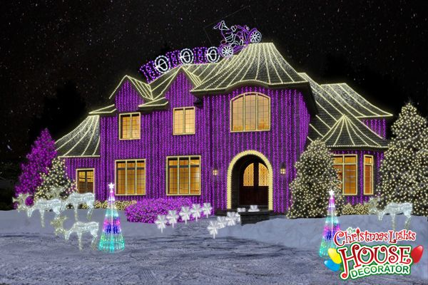 The Christmas Lights House Decorator Display of the Day – The ...