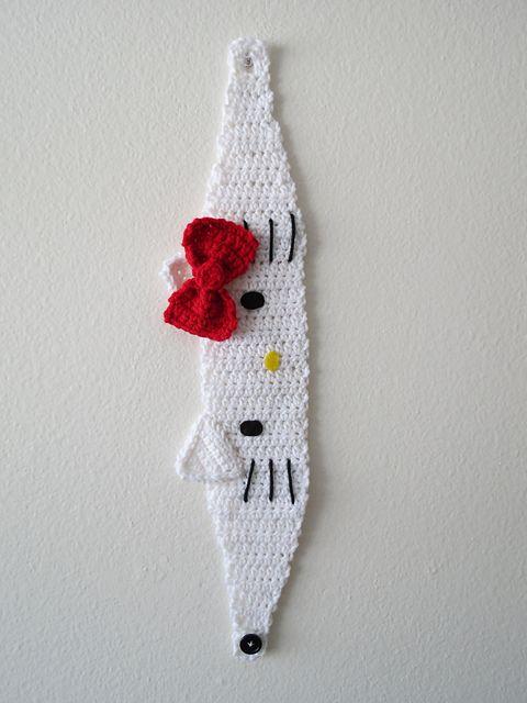 Hello Kitty Headband/Headwrap pattern by Denton Foreman   CROCHET ...