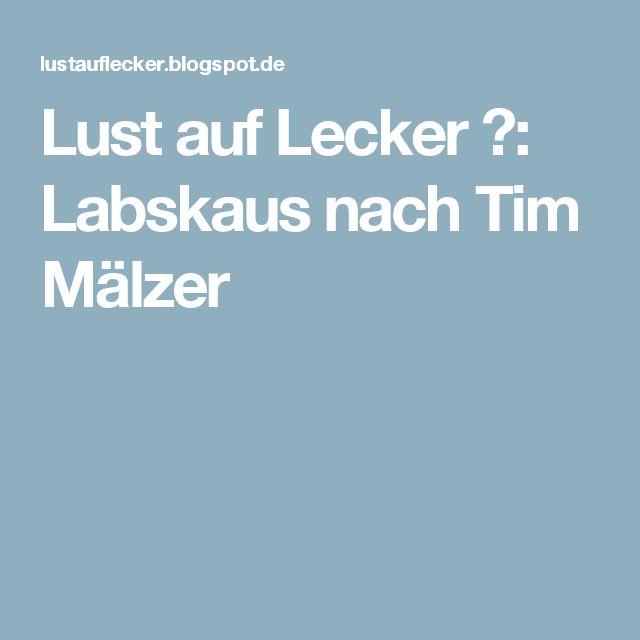 Lust auf Lecker 🌶: Labskaus nach Tim Mälzer