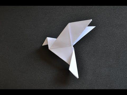 Origami: Pomba da paz - YouTube