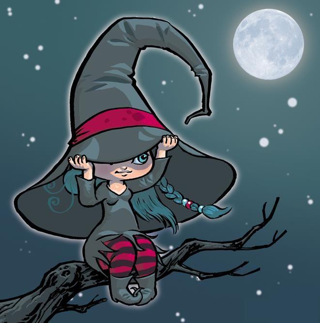 Маленькая ведьма прикольные картинки