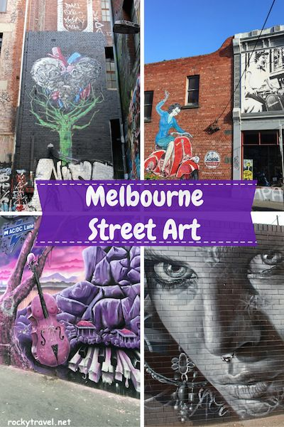 A guide to exploring the best Melbourne Sreet Art.