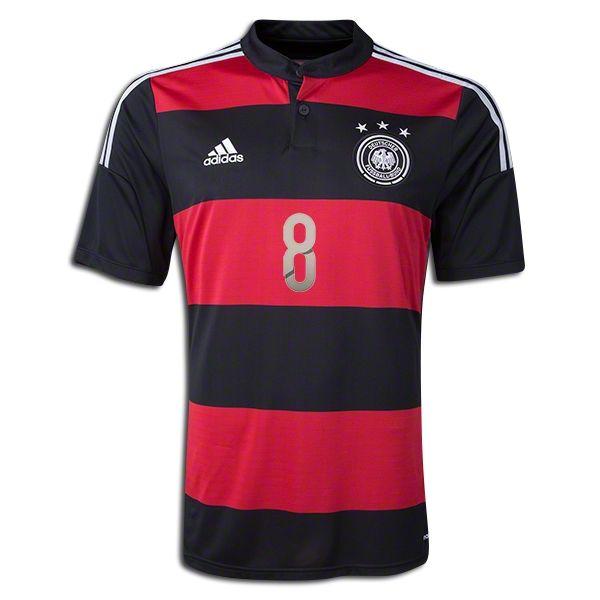 9aa6f5d0d ... 2014 FIFA World Cup Germany Mesut Ozil 8 Away Soccer Jersey ...