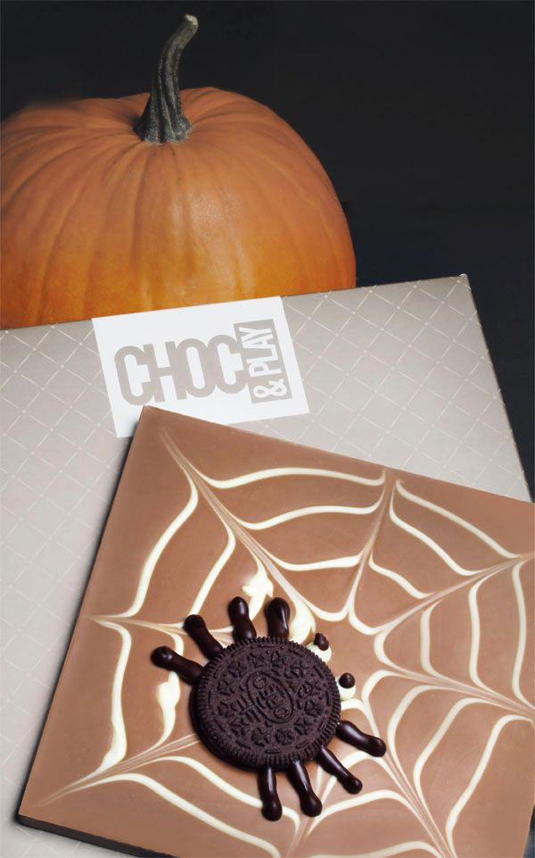 Spider Choco #chocolate #chocolissimo #halloween